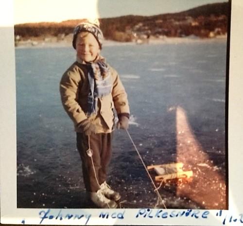 1962 isfiske på Hamresanden