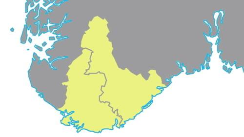 kart over sørlandet norge Ambisjon for Sørlandet   Johnny B. Weekly kart over sørlandet norge